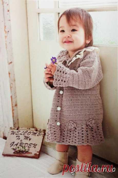 Пуловеры, свитера, кардиганы, пальто и другие теплые вязаные вещи дл девочек » Страница 2