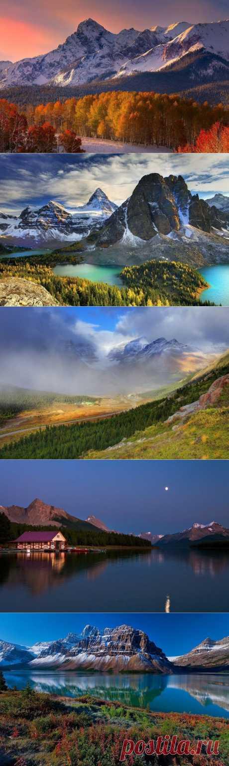 Завораживающие пейзажи Канады