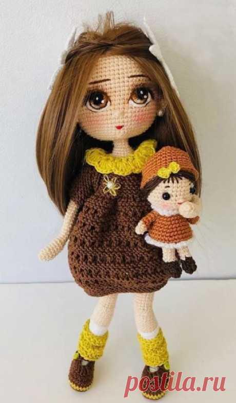 Мастер-классы - Вязанные - Кукла «Песочная девочка» - Куклы - ✂КомоК мастеров рукоделия