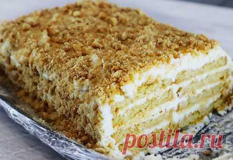 Вкуснейший торт с творожным кремом: Быстро и просто без выпечки Нежнейший тортик с изумительным кремом на скорую руку. Идеальный десерт, когда не...