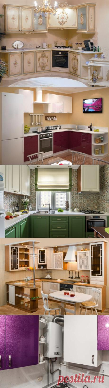 Дизайн кухни 8 кв м современные идеи дизайна в типовой квартире планировка кухни с холодильником