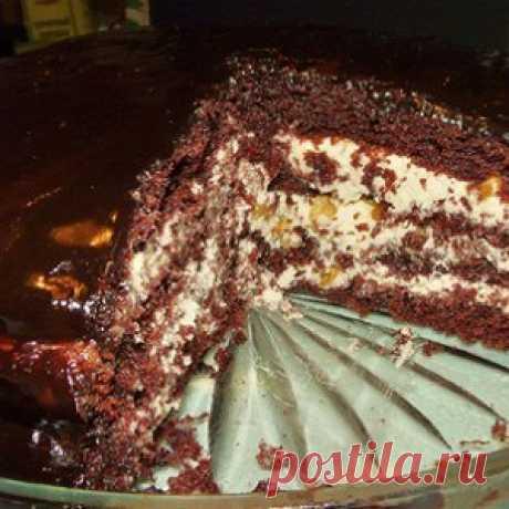 Торт «Прага» по старинному рецепту рецепт – выпечка и десерты