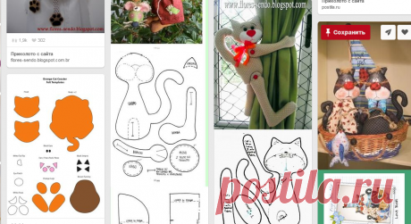 Lapjes van vilt en zo в Pinterest