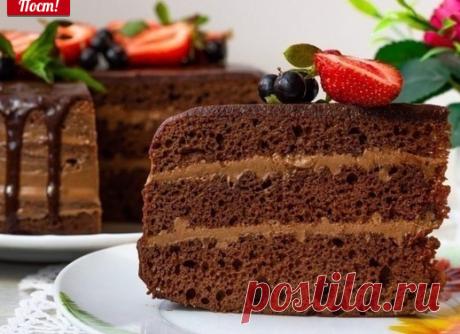"""Торт """"Астория""""  Этот торт такой шоколадный!"""