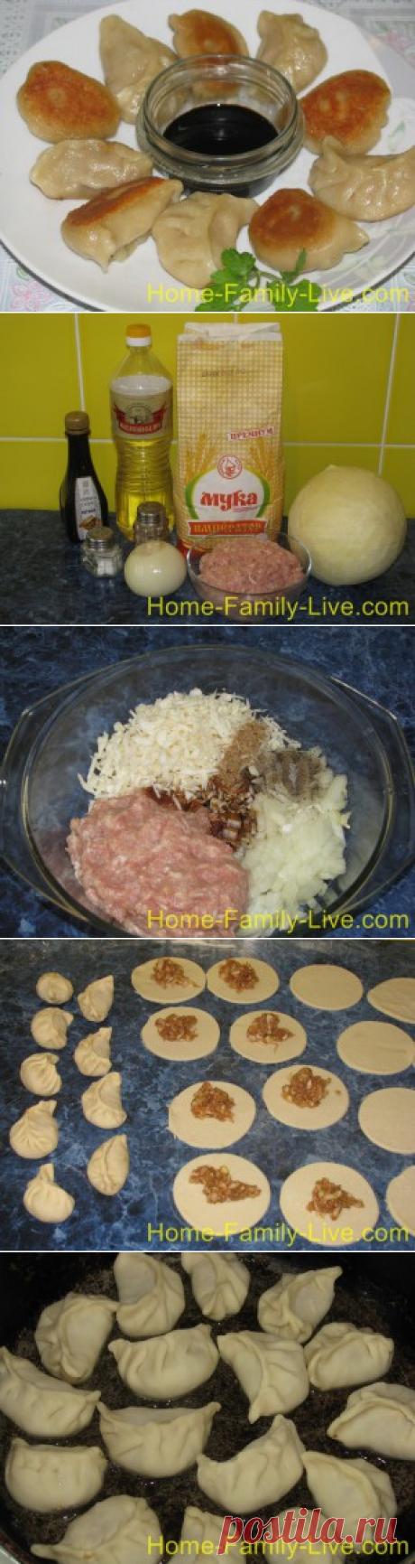 Китайские пельмени - пошаговый фоторецептКулинарные рецепты