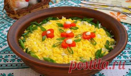 Праздничный салат Мимоза со свежей горбушей. Простые и быстрые рецепты - Кейс советов