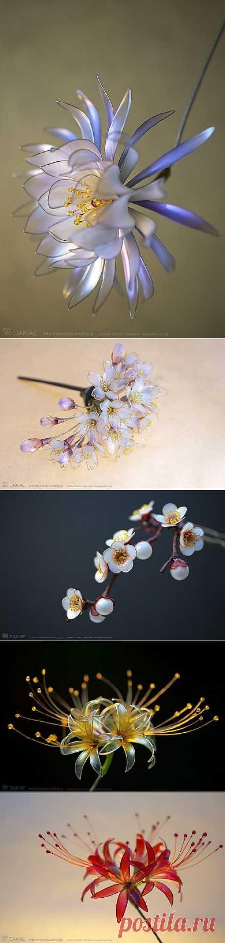 Хрупкая красота от мастера Sakae.