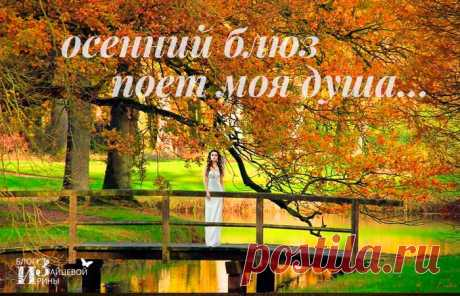 Осенний блюз поет моя душа   Блог Ирины Зайцевой