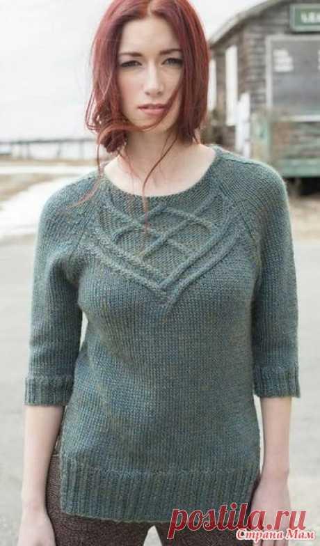 . Пуловер Halyard от Norah Gaughan - Вязание - Страна Мам