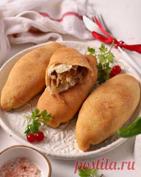 Пирожки с капустой в духовке без яиц и дрожжей | Рецепты от шеф-поваров | Яндекс Дзен