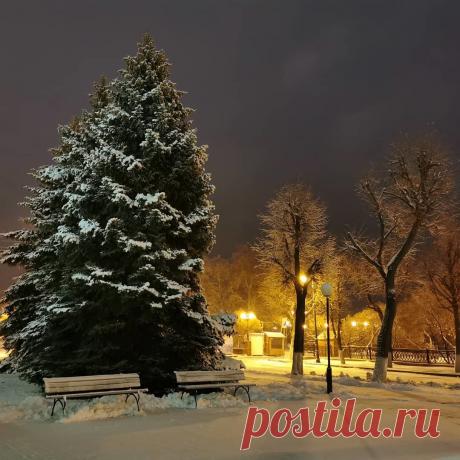 Ульяновск в снегу