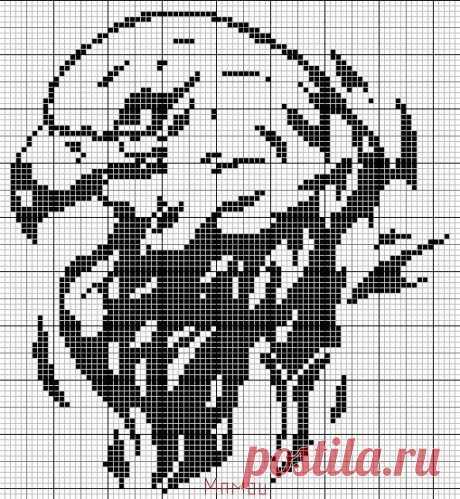 Gallery.ru / Фото #117 - Птицы (схемы) - Olgakam