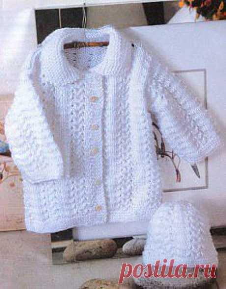 Пальто и шапочка «Пушистый снежок»  | Рукоделие — мое хобби