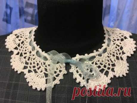 Ажурный воротничок Оpenwork collar