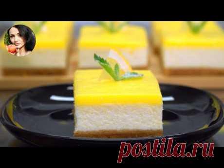 Lemon Cheesecake. Insanely tasty | Eng. Sub