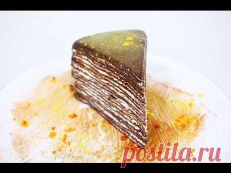 Pancake Chocolate Cake \/ Crepe Chocolate Cake