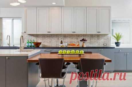 Дизайн столешницы для кухни: критерии выбора материала