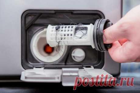 Как почистить фильтр в стиральной машине: как понять, что фильтр засорился