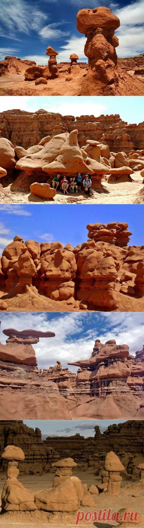 Долина Гоблинов: фантастический мир камней