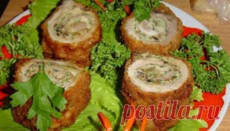 Оригинальная горячая закуска «Мясные пенечки»: такого вы еще не видели