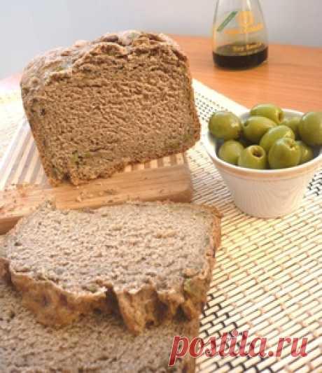 Постный хлеб с оливками рецепт с фотографиями