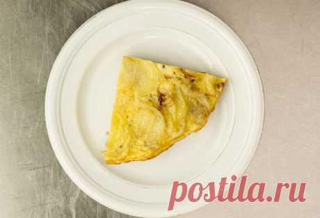 Тортилья с кинзой.  Тортилья - испанское блюдо, которое можно подать к столу во время любого приёма пищи.