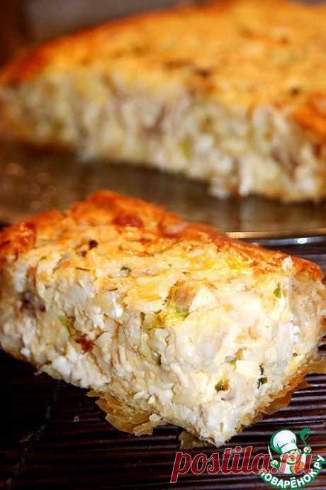 Греческий деревенский пирог с курицей. Автор: natapit