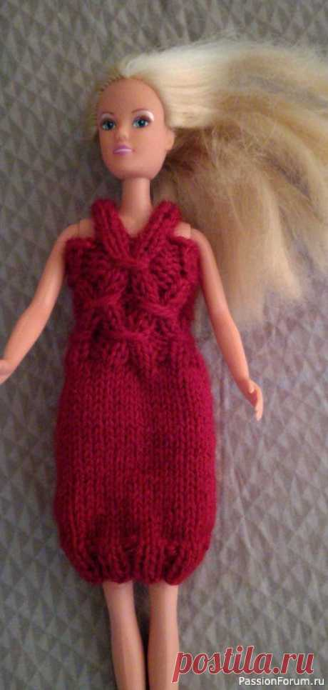 Одеваем кукол | Вязание спицами. Работы пользователей
