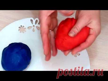 Как сделать пластилин плей до Play doh своими руками