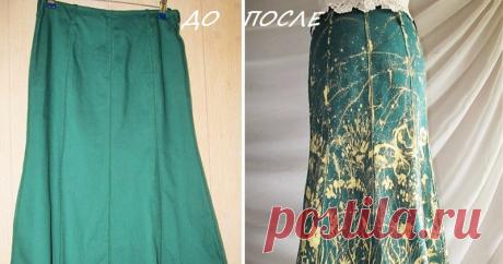 Расписываем юбку белизной из шприца Вы когда-нибудь расписывали свою одежду белизной из шприца? Если нет, то приглашаю посмотреть, как это сделала я со своей юбкой. Юбку я сшила из хлопка зеленого цвета не прочной окраски — такие ткани обычно изготавливают для рабочей одежды. Линяет жутко, да и плотность оставляет желать лучшего. В общем, если бы не эксперимент, этой юбки не было бы. Но для рисования белизной — то, что нужно.