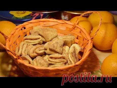 Творожное печенье ПОЦЕЛУЙЧИКИ. Простой пошаговый рецепт ВКУСНОГО ПЕЧЕНЬЯ ИЗ ТВОРОГА (в духовке). Такое печенье встречается под разными названиями: творожное,...