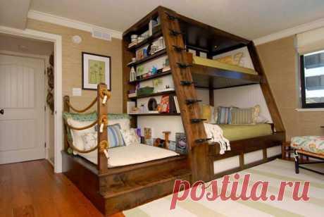 Необычные двуспальные кровати (трафик)