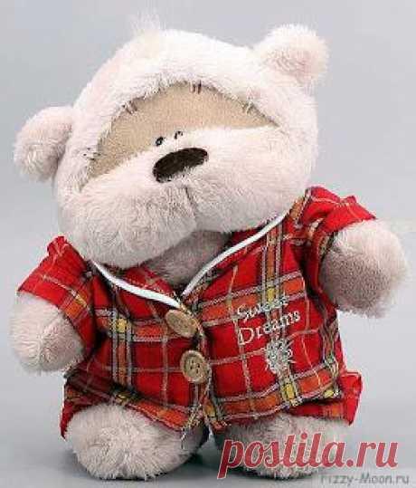 Fizzy Moon - медведь с розовой пуговицей - новый сентиментальный персонаж из Англии. Эти плюшевые мишки станут отличным подарком как себе, так и близкому, любимому человеку.