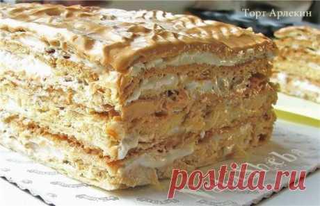"Торт ""Арлекин"" (Harlequin Cake) - Хлебопечка.ру"