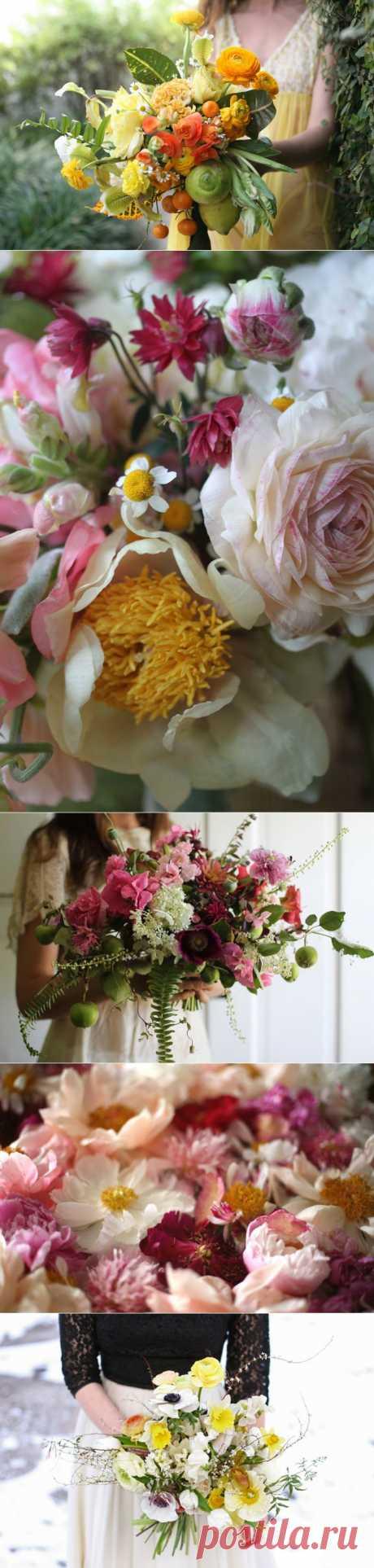 Los ramos Amy Merrick de flores