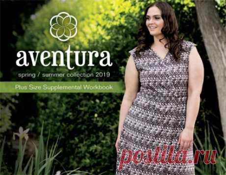 3f41914b5eb Lookbook женской одежды больших размеров американского бренда Aventura  весна-лето 2019