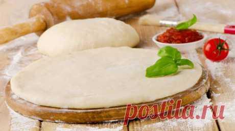Супер тонкое и вкусное тесто для пиццы по итальянски