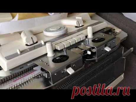 Чистка-смазка и уход передней игольницы,и ажурной каретки.Студия машинного вязания .