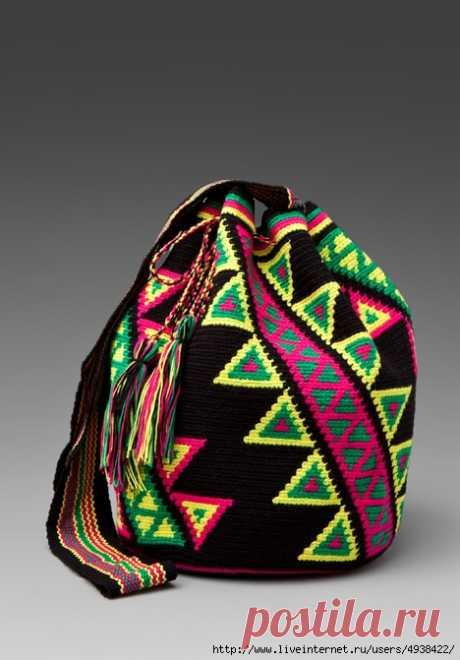 Яркие колумбийские сумки — Рукоделие