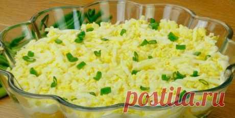 Самый вкусный салат, который я ела в Польше. Готовиться элементарно просто! Очень оригинальный получается по вкусу!