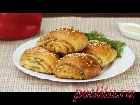 Rollitos de jamón y queso: ¡Deliciosa receta que siempre le saca de cualquier apuro! | Gustoso. TV
