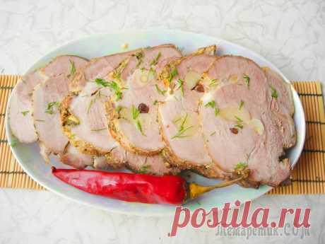 Мясо в рукаве для запекания / мясная закуска Предлагаю вариант приготовления вкуснейшей свинины в рукаве! Благодаря маринаду мясо получается нежным, сочным и ароматным. Блюдо является прекрасной заменой магазинной колбасе.Ингредиенты:Свинина (вы...