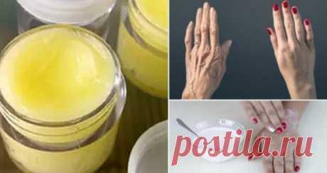 Руки этой 46-летней женщины выглядели так, как будто ей было 70 лет, но когда ее друг рассказал ей этот секретный рецепт, она не узнала свои руки!