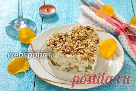 Салат с куриным филе и маринованными огурцами рецепт с фото, как приготовить на Webspoon.ru