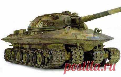 Объект 279 - советский тяжелый танк, выпущенный в единственном экземпляре | Чёрт побери