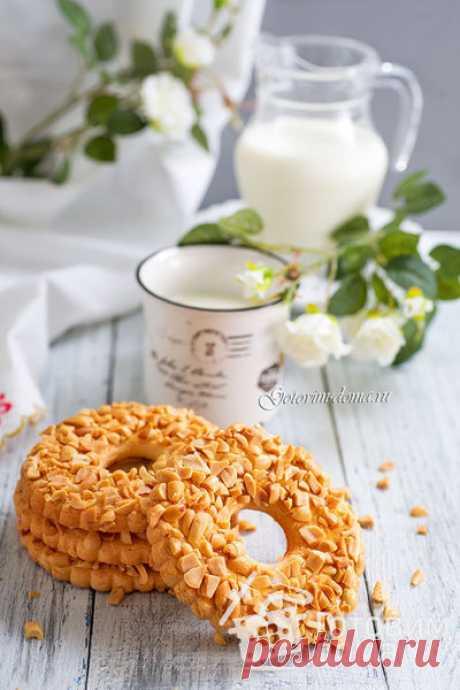 Los anillos de arena con las nueces - poshagovyy la receta de la foto en Preparamos las casas