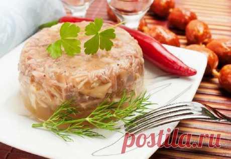 Холодец - рецепт приготовления с фото от Maggi.ru
