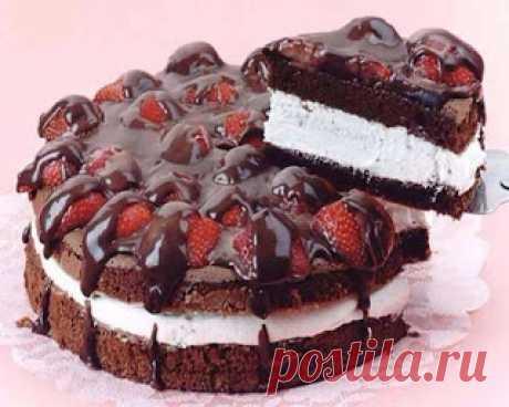 Кулинарный блог!Лучшие рецепты.: Тортик легче легкого
