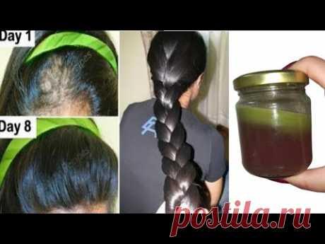 индийский секрет,🌿 отрастить волосы с невероятной скоростью и лечить облысение с первой недели,