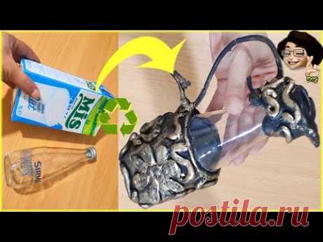 DIY | Soda şişesinden neler yapılır | Turn Glass Bottle into Cool recycle ideas - YouTube #recycle #diy #handmade